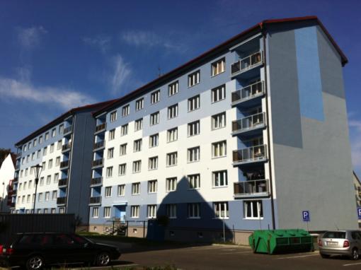Revitalizace panelových domů ve Vejprtech