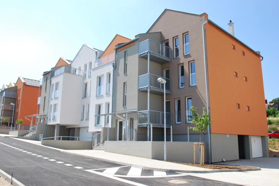 Výstavba bytových domů Prosetický svah